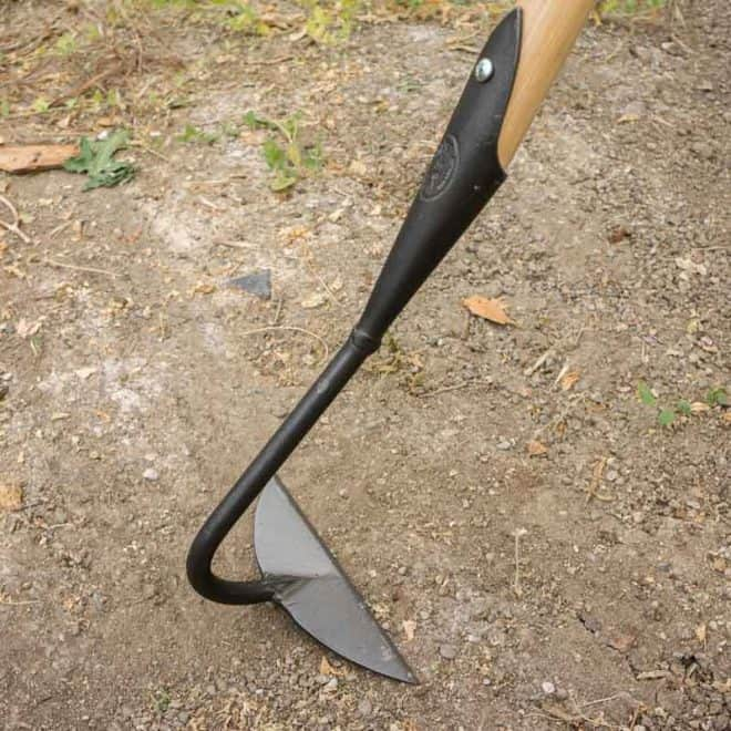 Dewit Half Moon Hoe Main 2 - Best Weeding tool for small weeds