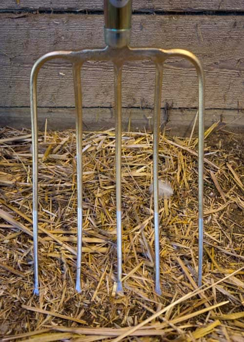 SHW Compost Fork Head