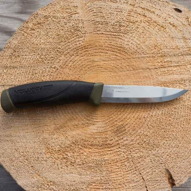 Mora Companion Stainless Steel Knife - Main