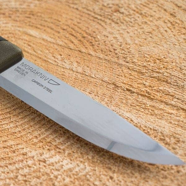 Mora companion carbon steel knife - blade