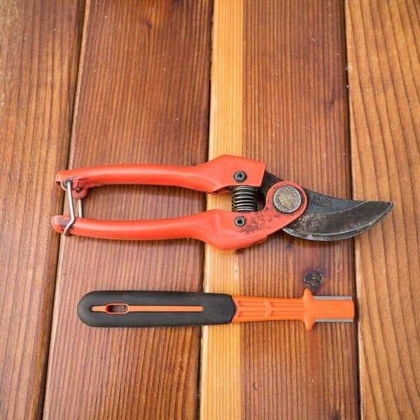 Carbide Sharpener for Pruners and Loppers 8