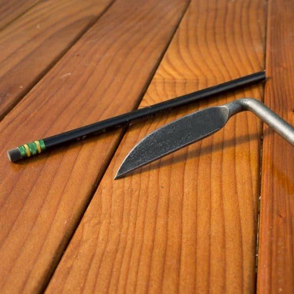 Dewit Cape Cod Weeder - Blade Detail Pencil-2