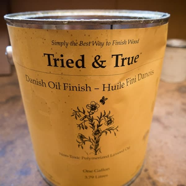 tried and true linseed oil 1