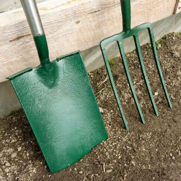 Clarington forge spade and fork set 2
