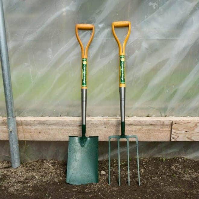 Clarington forge spade and fork set 1