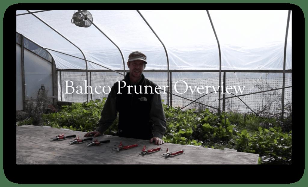 Bahco Pruner Overview