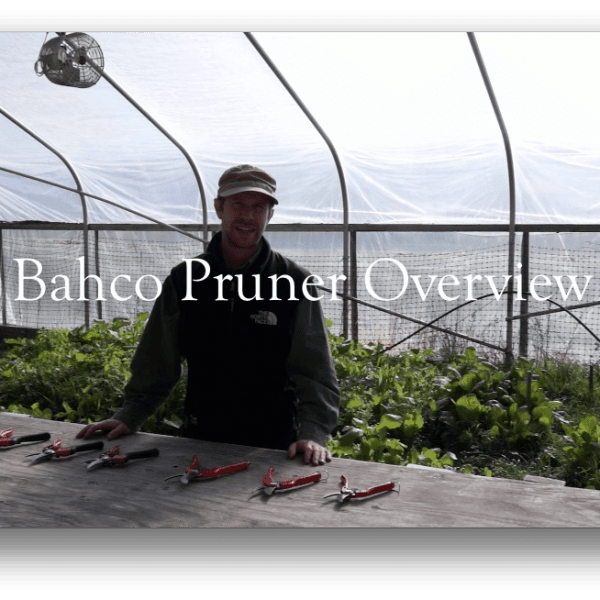 "Video: ""Reasons to Love Bahco Pruners"""