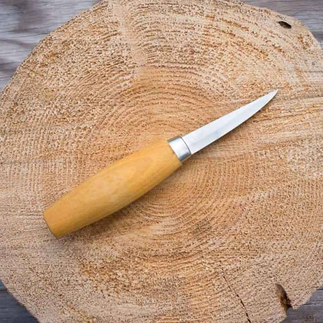 Mora 106 Long carving knife 2