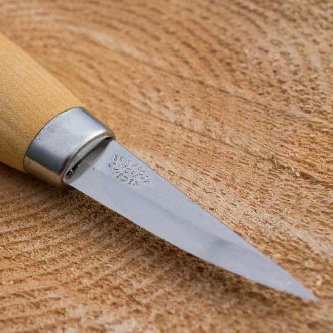 Mora 120 Short Carving Knife 3
