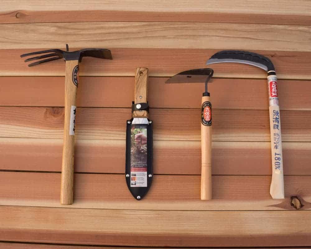 Japanese Garden Tool Set