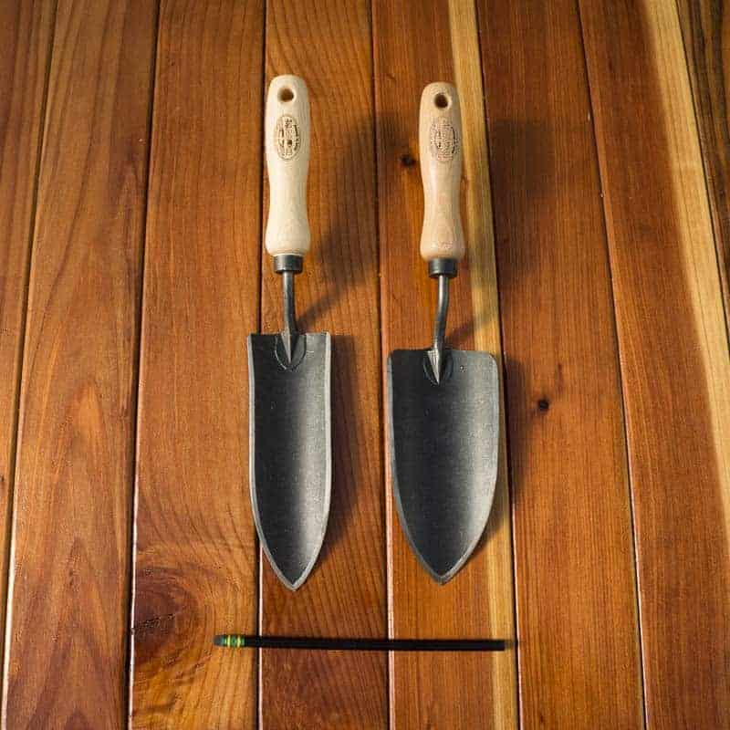 Dewit forged trowels the tool merchants for Best garden tools brand